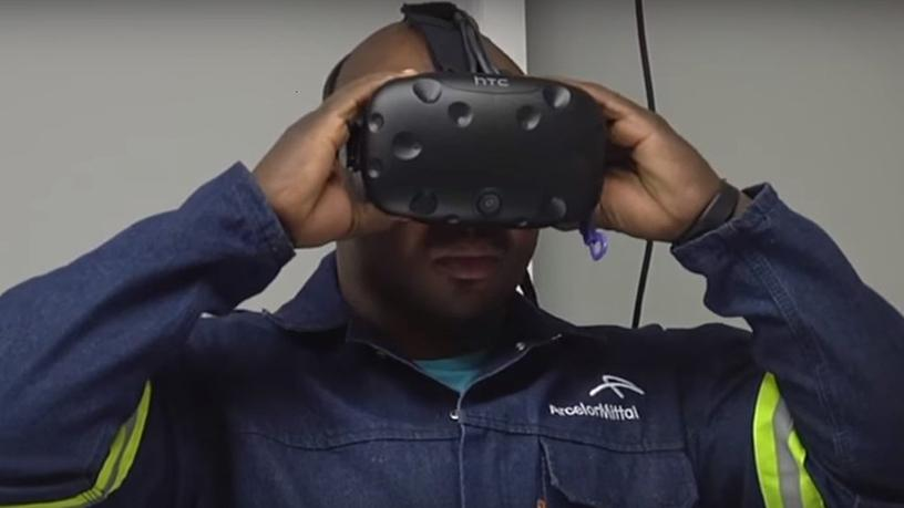 ArcelorMittal South Africa is piloting a VR/AR powered training programme at its Vanderbiljpark plant in Gauteng.