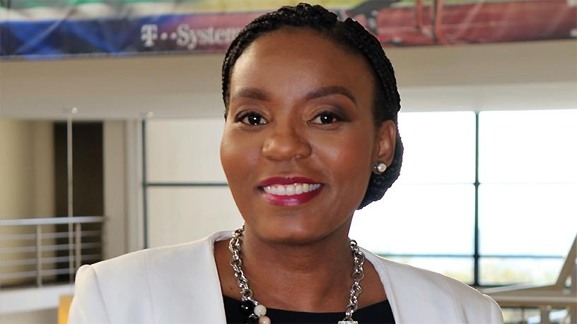 Dineo Molefe, MD of T-Systems SA.