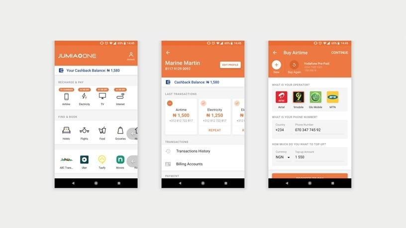 Jumia One app provides users with a one-stop-shop for most of Jumia's e-commerce offerings.