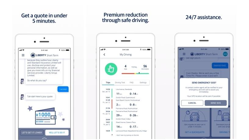 Liberty promises to speed up the time it takes to get an insurance quote.