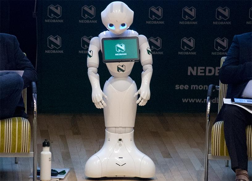 Nedbank to use Pepper, the humanoid robot, at its digital branch.