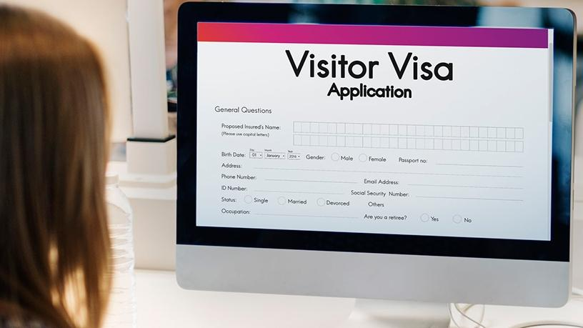 The Department of Home Affairs is working on an e-visa system.