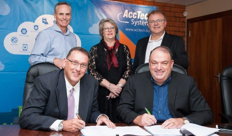 AccTech Systems and subsidiary Dynamics Africa Services have become subsidiaries of 4Sight Holdings, effective from 1 April this year.
