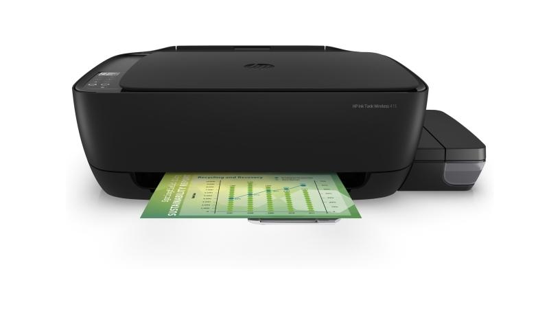 The new HP Ink Tank Wireless 415.
