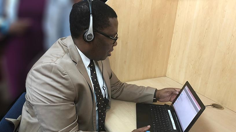 Gauteng education MEC, Panyaza Lesufi.