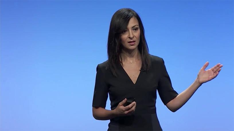 "Ruba Borno: Customers ""are drowning in a sea of technology complexity""."