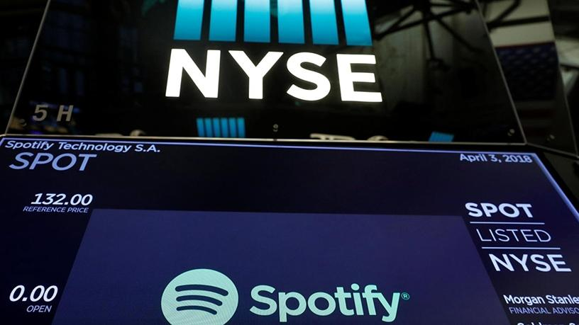 Spotify soars in US$26 billion stock debut