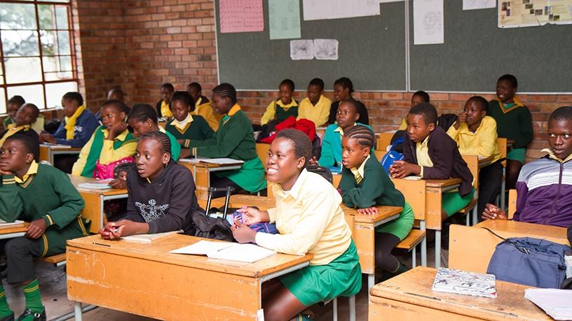 Samsung trains unemployed matriculants in a wide range of mobile electronics skills.