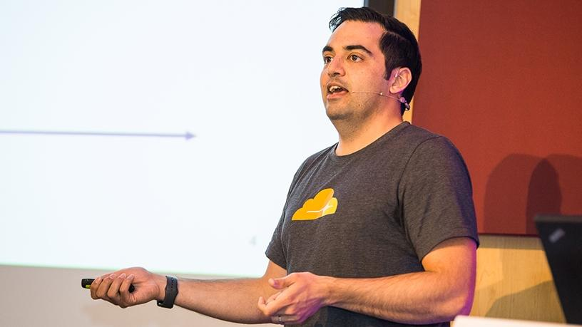 Alex Cruz Farmer, security product manager at Cloudflare.