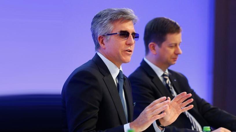 SAP CEO Bill McDermott and CFO Luka Mucic.