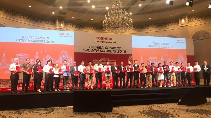Toshiba Connect Growth Markets 2018 Award Winners in Istanbul.