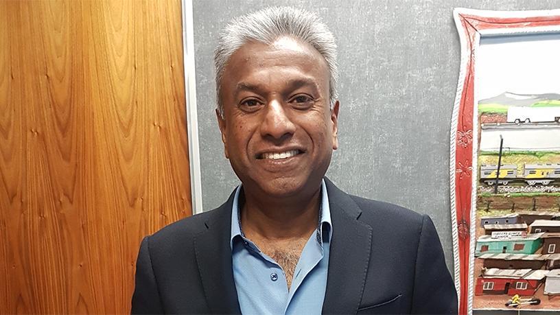 Outgoing Cell C CFO Tyrone Soondarjee.