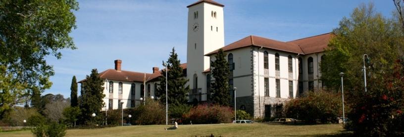 Rhodes University Campus.