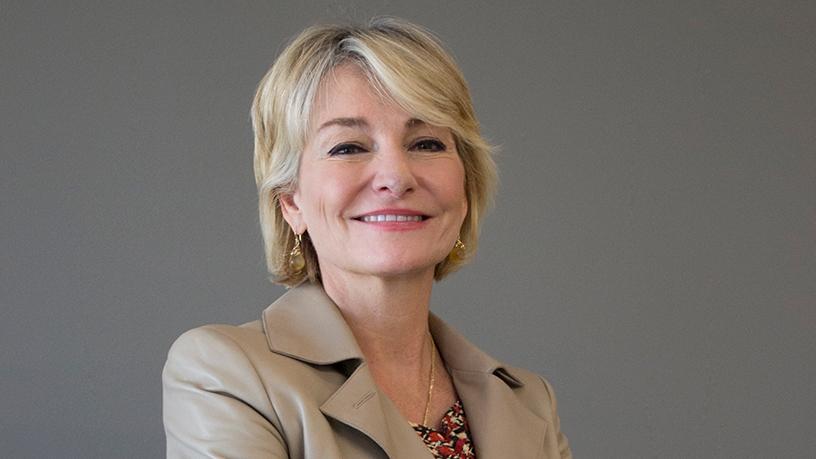 Bridget van Kralingen, IBM's senior vice-president for global industries, platforms and blockchain. Photo by: Brian Ngobese