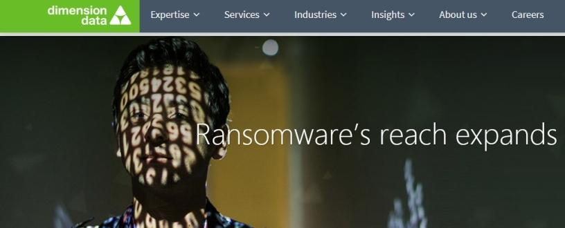 Ransomware's reach expands.