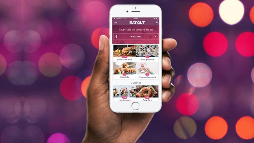 The app has been developed to find nearby restaurants using geolocation technology.