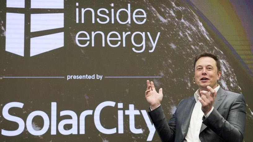 Elon Musk, chairman of SolarCity and CEO of Tesla Motors.