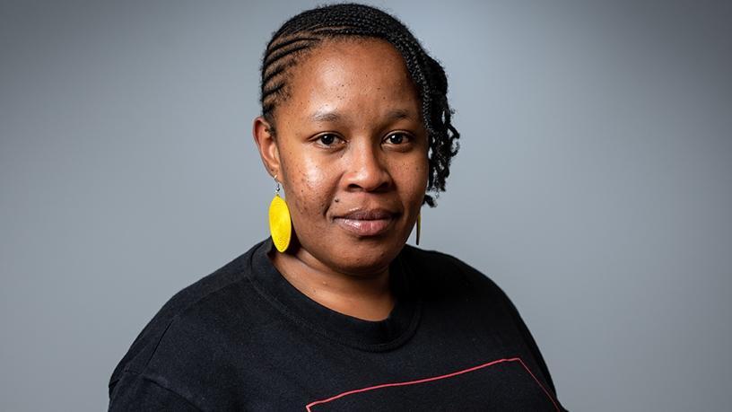 Koketso Moeti, social activist and founder of amandla.mobi.