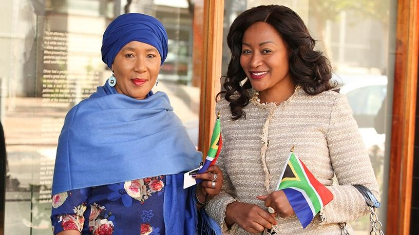 Dr Makaziwe Mandela and Dr Brylyne Chitsunge are the first two people to sign up for the CEO SleepOut on Robben Island this year.