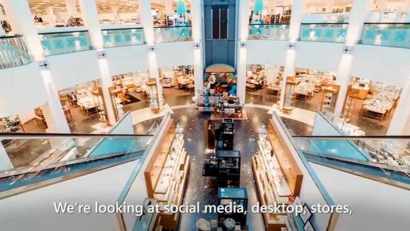 Macy's enhanced its website with a virtual agent based on the Microsoft Dynamics 365 AI solution.