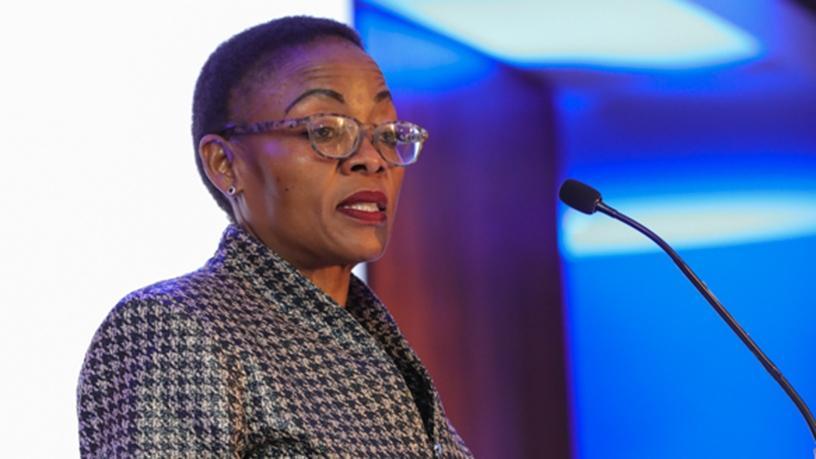 Deputy minister of communications Pinky Kekana.