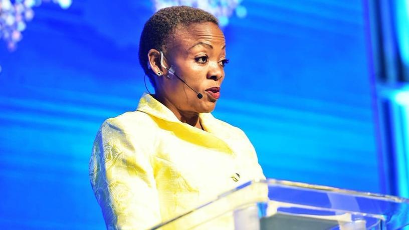 Pinky Kekana, deputy communications minister.