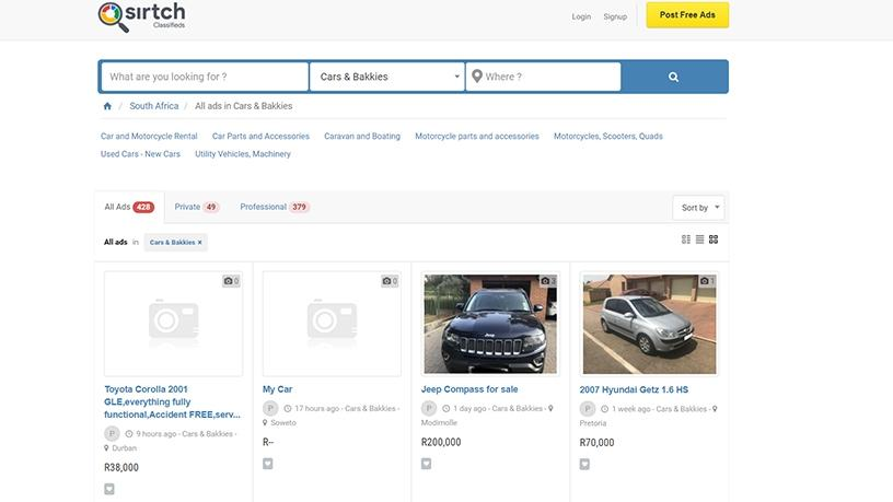 Sirtch takes on local giants Gumtree, OLX | ITWeb