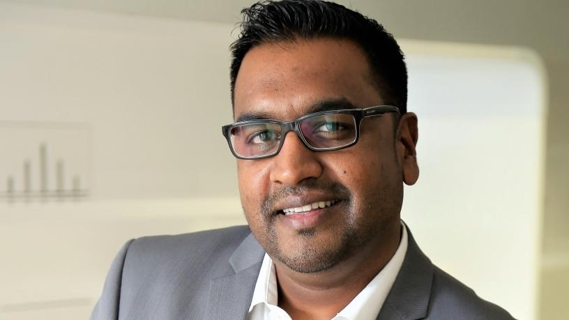 Clayton Naidoo, general manager of Cisco Sub Saharan Africa.