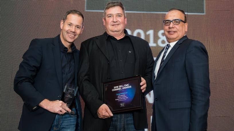 Storage partner of the year, SADC - Datacentrix.