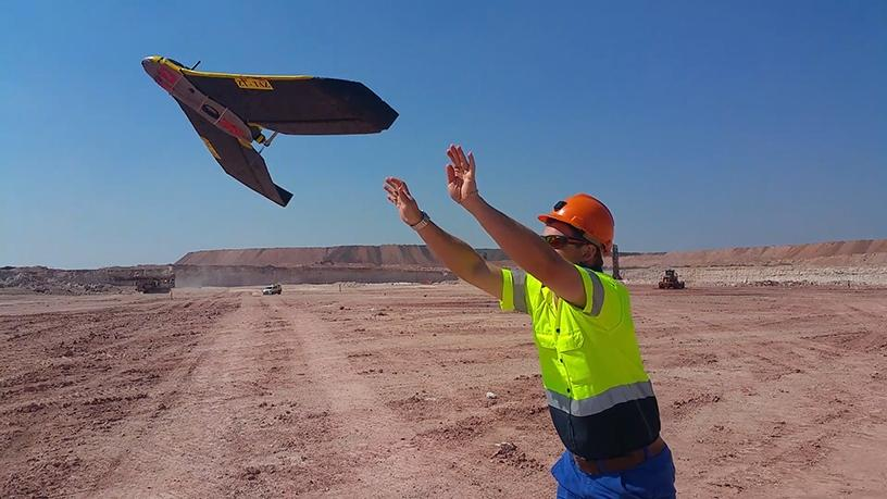 Local mining giant Kumba Iron Ore says using drones at its operations has optimised surveying and safety.