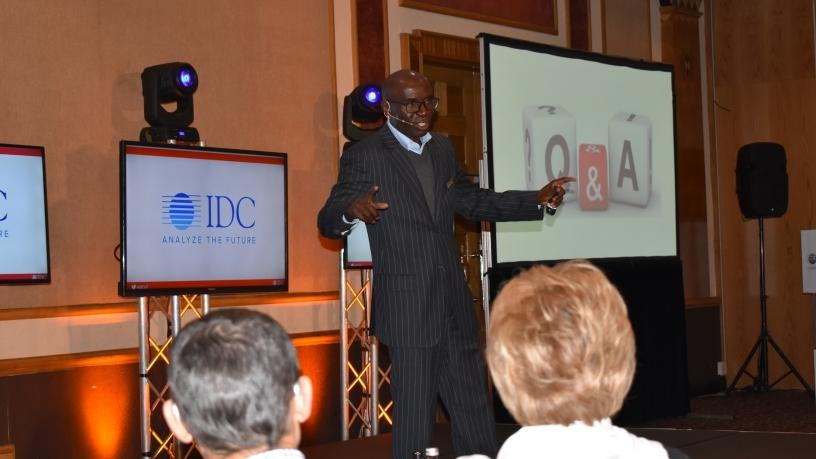 George Kalebaila, research director for telecoms and IOT at IDC SA.