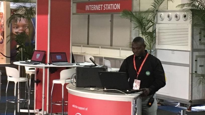 Delegate Internet Stations.