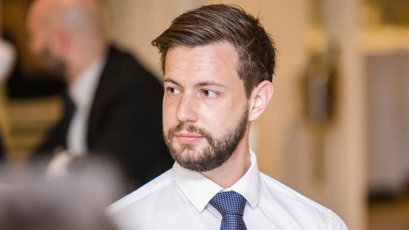 Kyle Redelinghuys, founder of BVNK.