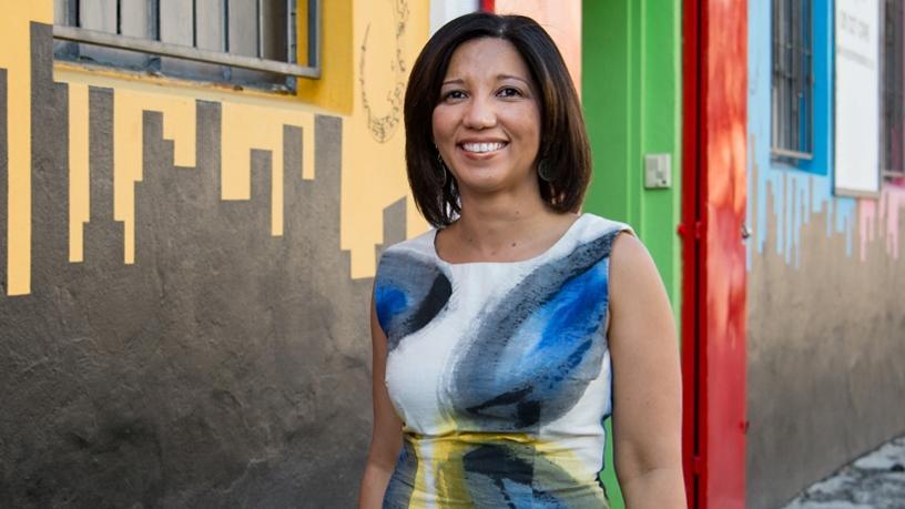 Tshimologong Precinct CEO Lesley Williams.