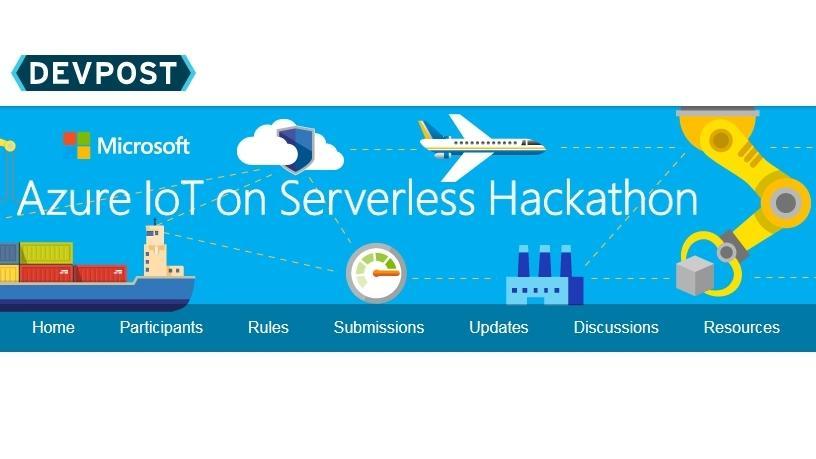 Azure on IoT Serverless Hackathon.