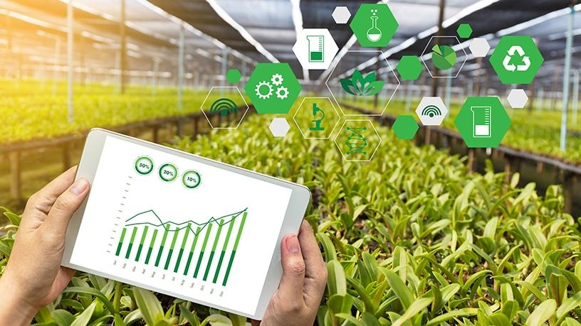 By using the app in the field, the user can pinpoint an area on the farm that shows deficiencies, says Agri Precise.