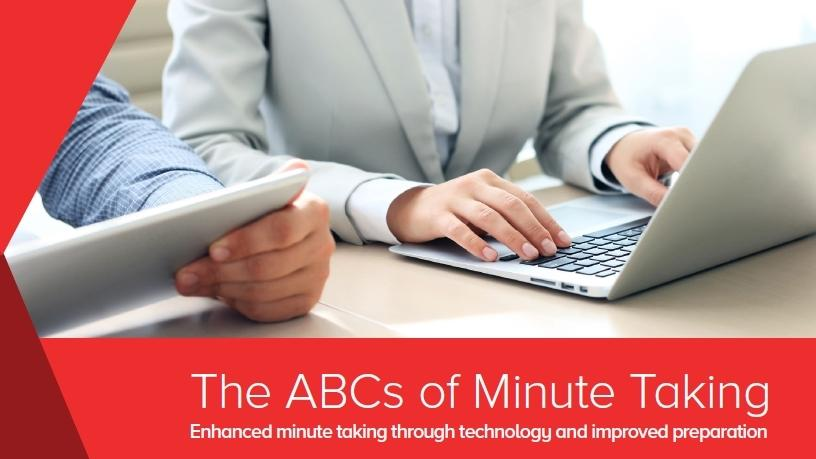 Learn how to take board meeting minutes kit.