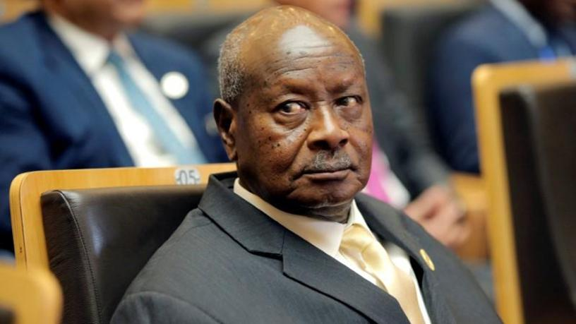 Uganda's president Yoweri Museveni.