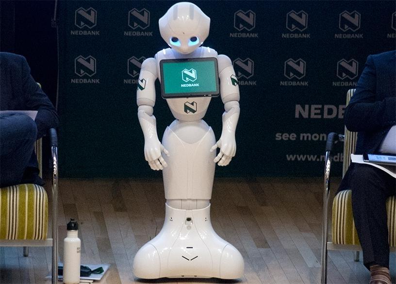 Come To Meeting Of Minds Itweb Ai 2018 To Meet Pepper Nedbank S