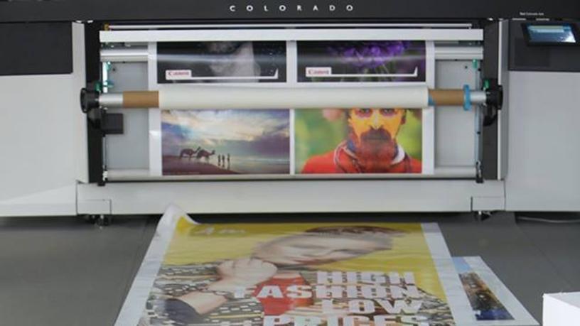 Oc'e Colorado 1640 print samples (Photo: AETOSWire)