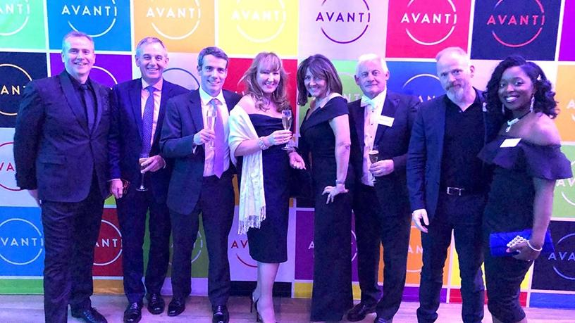 Avanti's team of employees who will be based in the Johannesburg offices.