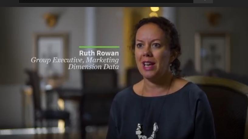 Ruth Rowan, group executive, Marketing, Dimension Data.