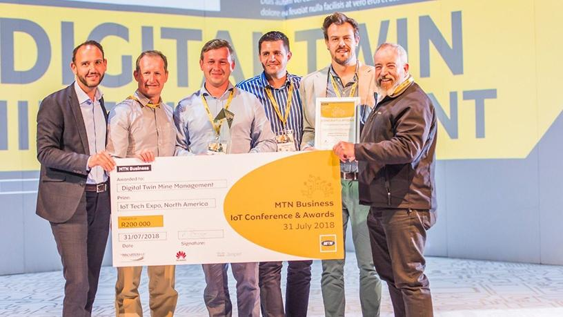 Digital Twin Mine Management was the overall winner of the 2018 MTN Mind2Machine Awards.