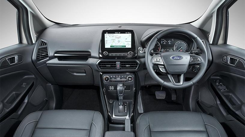 Ford's new SYNC 3 infotainment system is for the first time available in its compact SUV, the EcoSport.