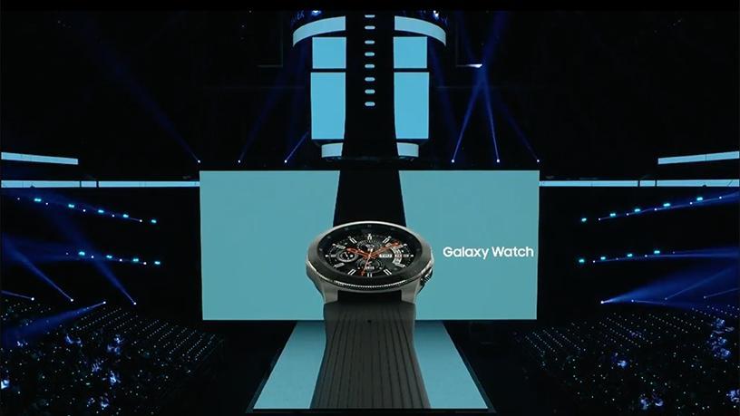 The new Samsung Galaxy Watch.