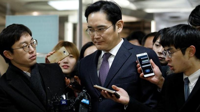 Samsung group heir Jay Y Lee.