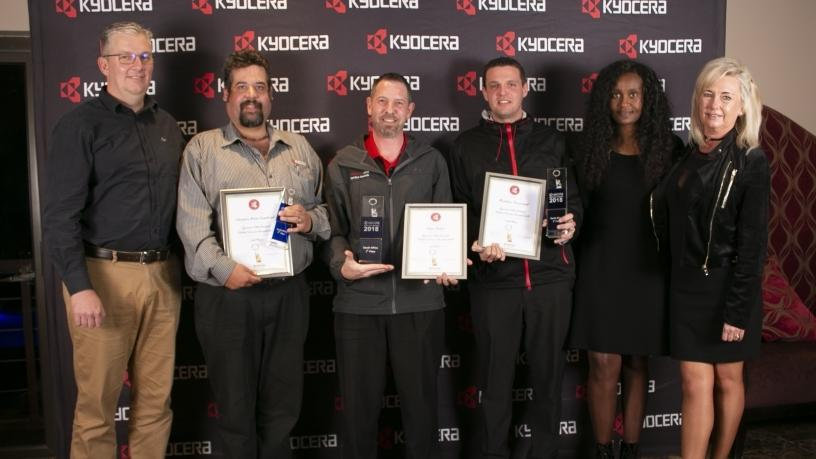 11th Kyocera Document Solutions South Africa Service Awards
