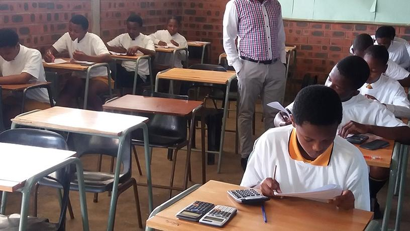 The Tugela Secondary School, in KwaZulu Natal, participating in last year's edition of SAICA's Accounting Olympiad.