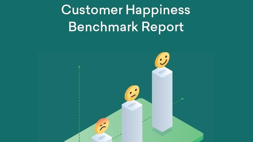 Customer happiness benchmark report.