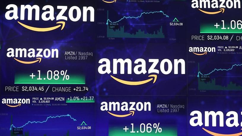 Amazon's shares traded as high as $2 050.50 before easing a little to end the session at $2 039.51.